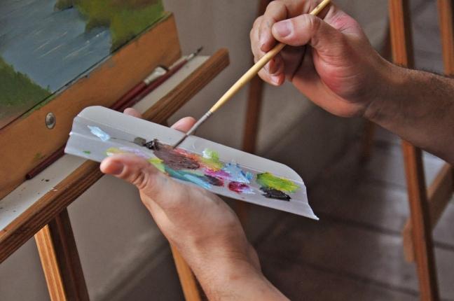 oficina de pintura com o thomas